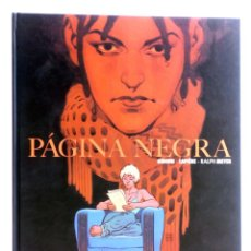 Cómics: PÁGINA NEGRA (GIROUD / LAPIÈRE / RALPH MEYER) SPACEMAN BOOKS, 2014. OFRT ANTES 25E. Lote 251617240