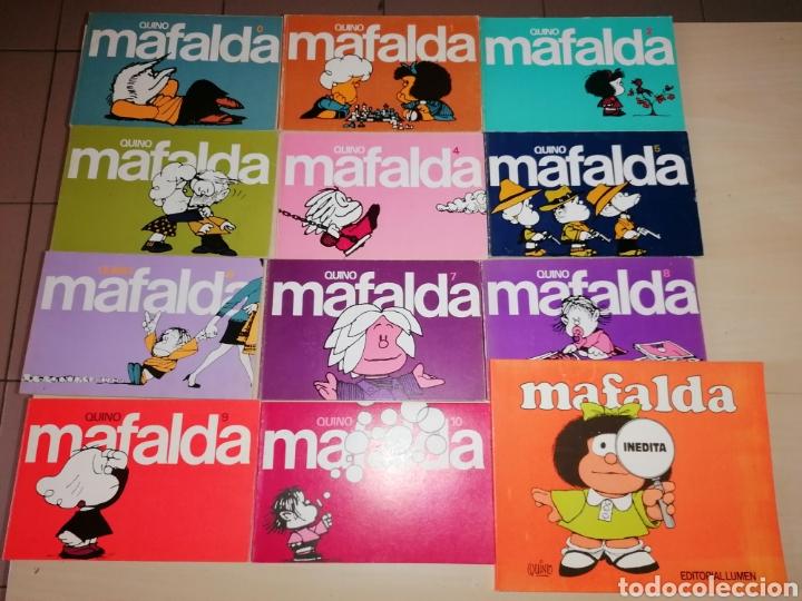 COLECCIÓN MAFALDA - QUINO- EDITORIAL LUMEN, 1989 (Tebeos y Comics - Comics Colecciones y Lotes Avanzados)