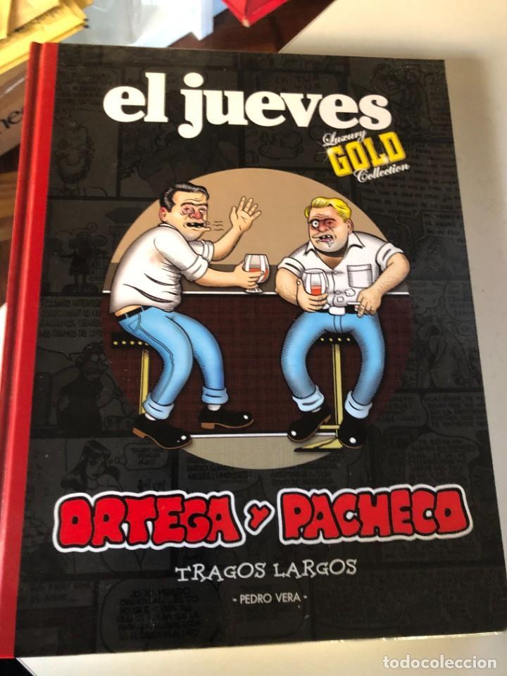 ORTEGA Y PACHECO - TRAGOS LARGOS / PEDRO VERA. -ED. EL JUEVES LUXURY GOLD COLLECTION (Tebeos y Comics - Comics otras Editoriales Actuales)