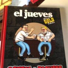 Cómics: ORTEGA Y PACHECO - TRAGOS LARGOS / PEDRO VERA. -ED. EL JUEVES LUXURY GOLD COLLECTION. Lote 232555295