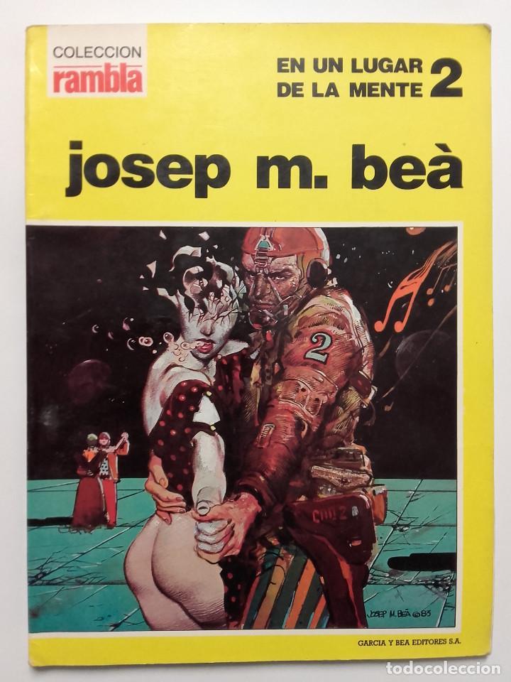 EN UN LUGAR DE LA MENTE 2 - JOSEP M. BEÀ - COLECCIÓN RAMBLA Nº 3 (Tebeos y Comics - Comics otras Editoriales Actuales)