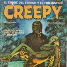 "Cómics: CÓMIC ` CREEPY "" Nº 16 ED. TOUTAIN "" LODELSCÒMICS "". Lote 232655115"