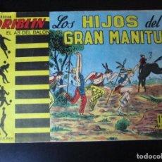 Cómics: DRIBLIN (1961, BELKROM) 14 · 1961 · LOS HIJOS DEL GRAN MANITÚ. Lote 232658601