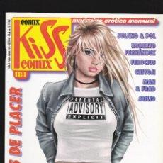 Cómics: KISS COMIX - Nº 181 - MAGAZINE ERÓTICO MENSUAL - EDICIONES LA CÚPULA -. Lote 232682770