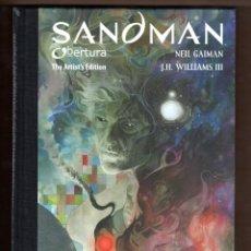 Cómics: SANDMAN : OBERTURA ARTIST'S EDITION - ECC / DC BLACK LABEL / EDICION LIMITADA / NUEVO Y PRECINTADO. Lote 232790780