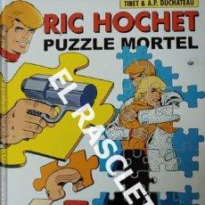 Cómics: LIBRO COMIC - RIC HOCHET - PUZZLE MORTEL - AÑO 2008 -. Lote 232843485