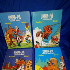 Cómics: LOTE 4 EJEMPLARES UMPA-PA - GOSCINNY / UDERZO - AKAL 1989 - TAPA DURA Nº 1-3-4-5. Lote 233013640