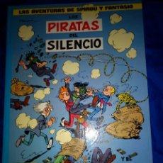 Cómics: SPIROU Y FANTASIO Nº8 LOS PIRATAS DEL SILENCIO DE EDICIONES JUNIOR 1982. Lote 233021040