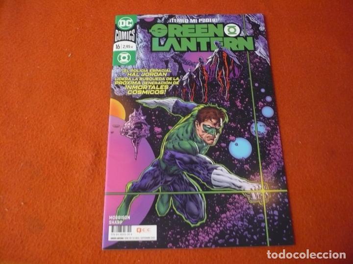 GREEN LANTERN Nº 16 ( GRANT MORRISON SHARP ) ¡MUY BUEN ESTADO! DC ECC 2020 (Tebeos y Comics - Comics otras Editoriales Actuales)