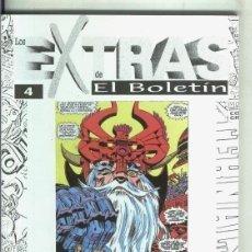 Cómics: JACH KIRBY EXTRAS DE EL BOLETÍN Nº 4. Lote 233315670