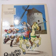 Cómics: COMIC DON QUIJOTE DE LA MANCHA EDICIONES SEDMAY 1975 TAPA DURA. Lote 233351095