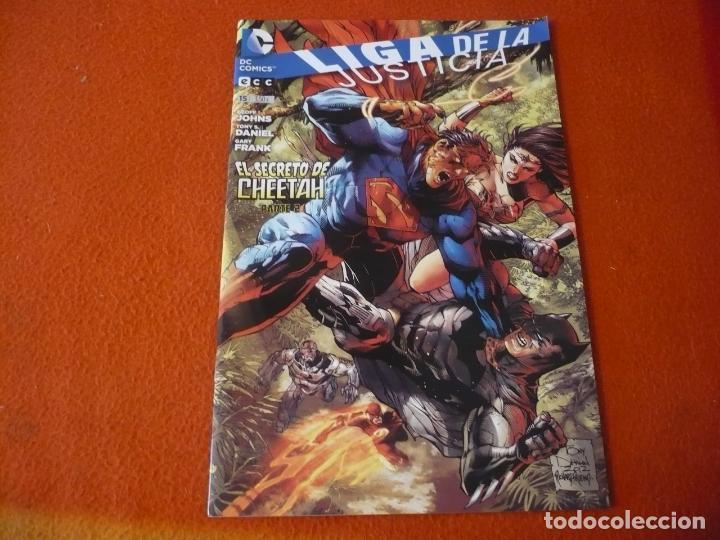 LIGA DE LA JUSTICIA Nº 15 ( GEOFF JOHNS GARY FRANK ) ¡MUY BUEN ESTADO! ECC NUEVO UNIVERSO DC JLA (Tebeos y Comics - Comics otras Editoriales Actuales)