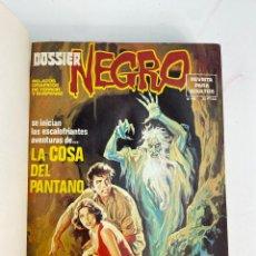Cómics: L-5863.8 COMICS DOSSIER NEGRO,RELATOS GRAFICOS DE TERROR Y SUSPENSE. 1976-78. IBERO MUNDIAL DE EDIC.. Lote 233501275