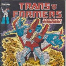 """Cómics: CÓMIC TRANSFORMERS Nº 47 ED. FORUM / MARVEL COLOR """" LODELSCÒMICS """". Lote 233598035"""
