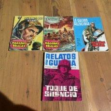 Cómics: ANTIGUO LOTE DE COMICS HAZAÑAS DEL OESTE Y RELATOS DE GUERRA AÑOS 60. Lote 233607450