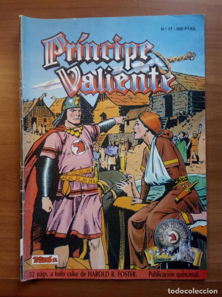 PRINCIPE VALIENTE, N 17 HAROLD R. FOSTER (Tebeos y Comics - Buru-Lan - Principe Valiente)