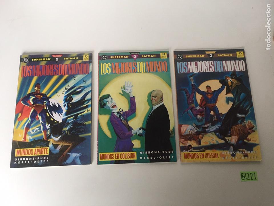SUPERMAN/BATMAN: LOS MEJORES DEL MUNDO COMPLETA (Tebeos y Comics - Comics Colecciones y Lotes Avanzados)