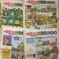 Comics : LOTE 7 EJEMPLARES TIPO PERIODICO EL MINIMUNDO 1996 SUPLEMENTO MINI MUNDO SPIROU 2 3 4 5 6 7 8. Lote 233768625