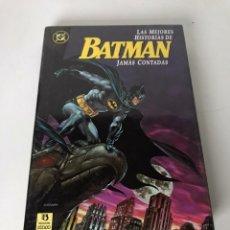 Cómics: LAS MEJORES HISTORIAS DE BATMAN JAMÁS CONTADAS. Lote 233893350