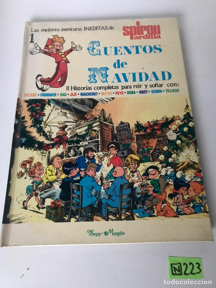 LAS MEJORES HISTORIAS INÉDITAS DE LE JOURNAL 1 DE SPIROU - CUENTOS DE NAVIDAD (Tebeos y Comics - Comics Colecciones y Lotes Avanzados)
