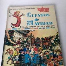 Cómics: LAS MEJORES HISTORIAS INÉDITAS DE LE JOURNAL 1 DE SPIROU - CUENTOS DE NAVIDAD. Lote 233897300