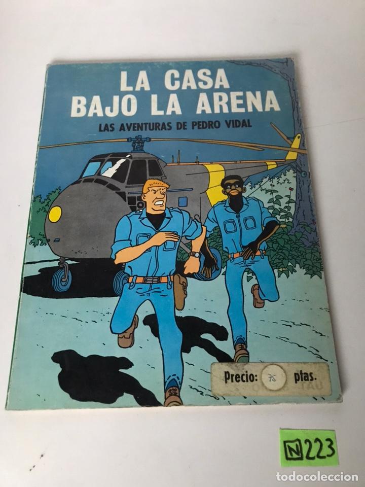 LA CASA BAJO LA ARENA - LAS AVENTURAS DE PEDRO VIDAL (Tebeos y Comics - Comics Colecciones y Lotes Avanzados)