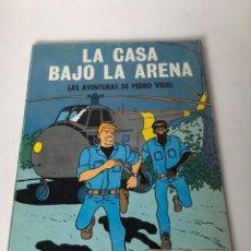 Cómics: LA CASA BAJO LA ARENA - LAS AVENTURAS DE PEDRO VIDAL. Lote 233897925