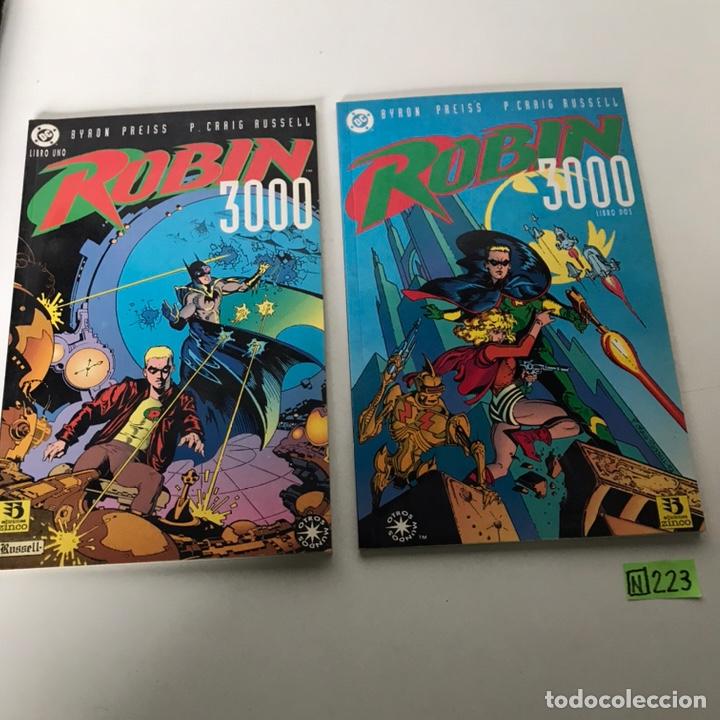BYRON PREISS-CRAIG RUSSELL ROBIN 3000: COMPLETA (Tebeos y Comics - Comics Colecciones y Lotes Avanzados)