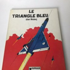 Cómics: LE TRIANGLE BLEU. Lote 233901505