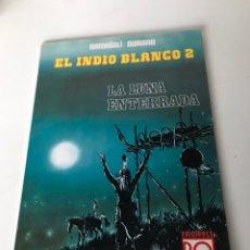 Cómics: LA LUNA ENTERRADA - EL INDIO BLANCO 2. Lote 234176265
