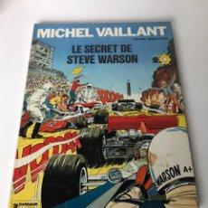 Cómics: MICHEL VAILLANT - LE SECRET DE STEVE WARSON. Lote 234287345