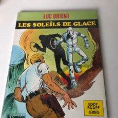 Cómics: LES SOLEILS DE GLACE - EDITORIAL LOMBARD. Lote 234290815