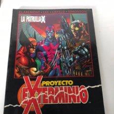 Cómics: PROYECTO EXTERMINIO - LA PATRULLA X. Lote 234307190