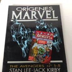 Cómics: ORIGENES MARVEL - THE AVENGERS. Lote 234307385