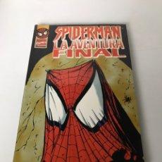 Cómics: SPIDERMAN LA AVENTURA FINAL. Lote 234309190