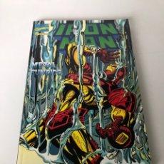 Cómics: IRON MAN - METAL FUNDIDO. Lote 234309330