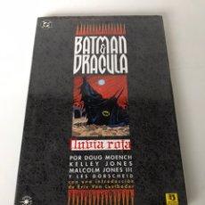 Cómics: BATMAN & DRACULA. Lote 234309605