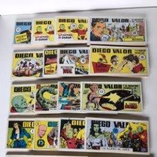Cómics: COLECCION DIEGO VALOR ( FALTAN 1 NÚMERO ). Lote 234310160