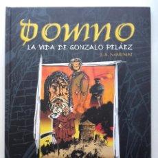 Cómics: DOMNO - LA VIDA DE GONZALO PELÁEZ - MARINAS, J. A. - EDITORIAL TRABE - 2005 1ª EDICION. Lote 234397055
