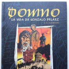 Cómics: DOMNO - LA VIDA DE GONZALO PELÁEZ - MARINAS, J. A. - EDITORIAL TRABE - 2005 1ª EDICION. Lote 234397120