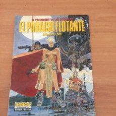 Cómics: EL PARAÍSO FLOTANTE - EL PRISIONERO DE LAS ESTRELLAS - CIMOC. Lote 234671715