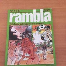 Cómics: RAMBLA. Lote 234673350