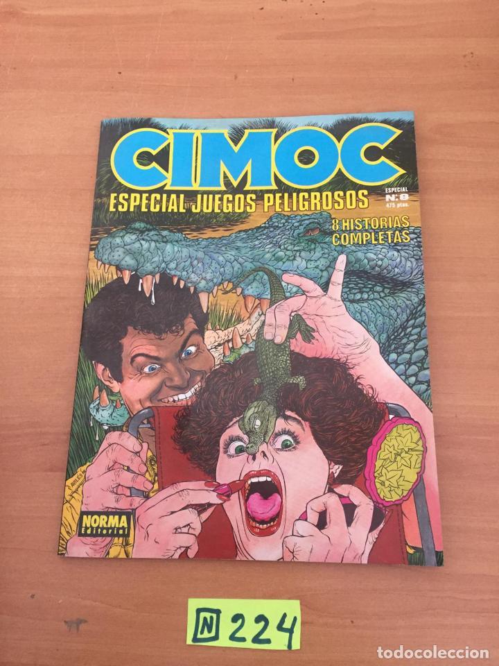 CIMOC ESPECIAL N8 (Tebeos y Comics - Comics Colecciones y Lotes Avanzados)
