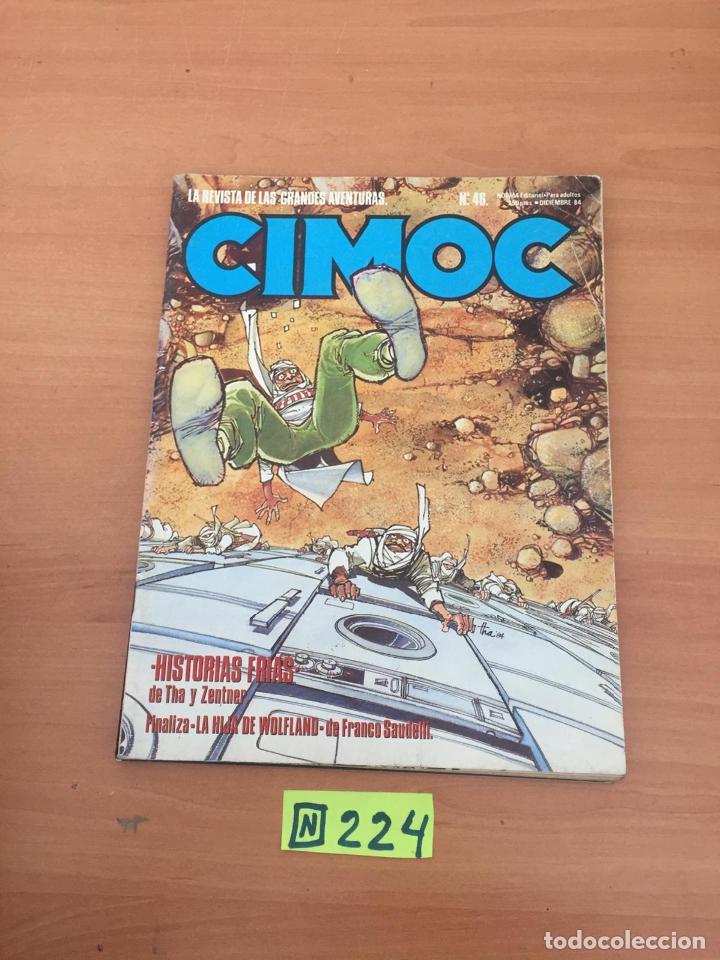 CIMOC N46 (Tebeos y Comics - Comics Colecciones y Lotes Avanzados)