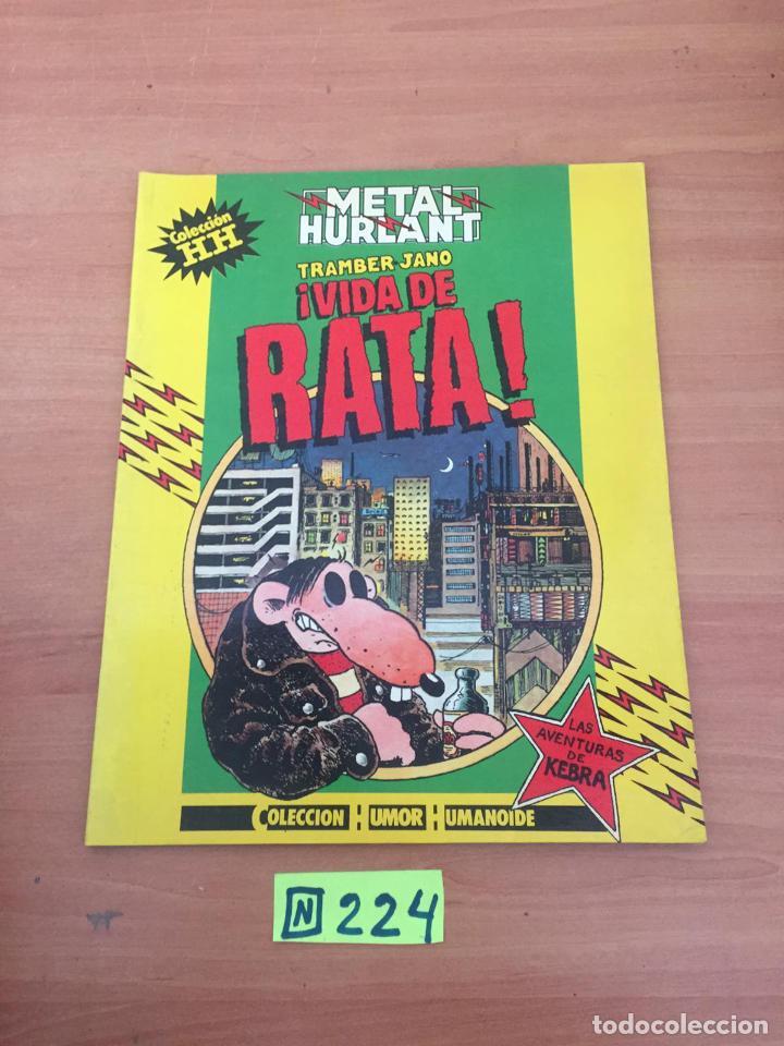 VIDA DE RATA - METAL HURLANT (Tebeos y Comics - Comics Colecciones y Lotes Avanzados)