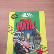 Cómics: VIDA DE RATA - METAL HURLANT. Lote 234676230