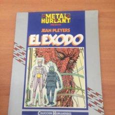 Cómics: METAL HURLANT - EL ÉXODO. Lote 234676465