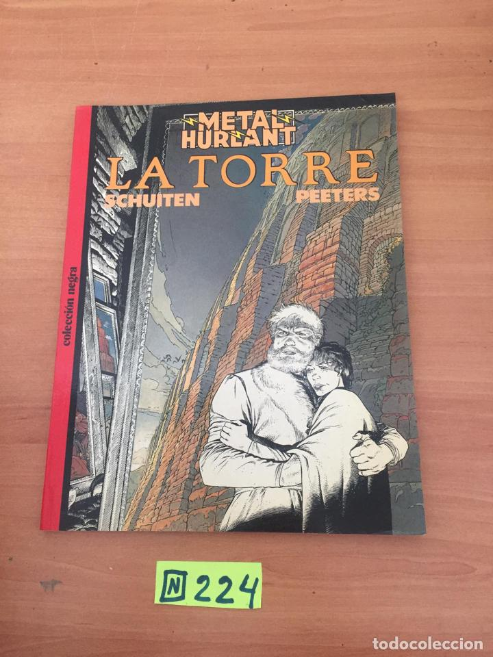 METAL HURLANT - LA TORRE (Tebeos y Comics - Comics Colecciones y Lotes Avanzados)