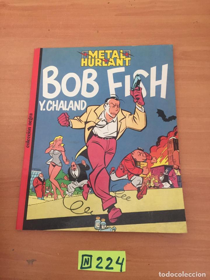 METAL HURLANT - BOB FISH (Tebeos y Comics - Comics Colecciones y Lotes Avanzados)