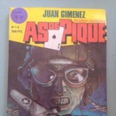 Comics: AS DE PIQUE 1-2-3-4-5 EN UN TOMO-IMPECABLE. Lote 253569635